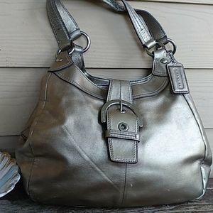 Coach Gold Soho handbag 717219